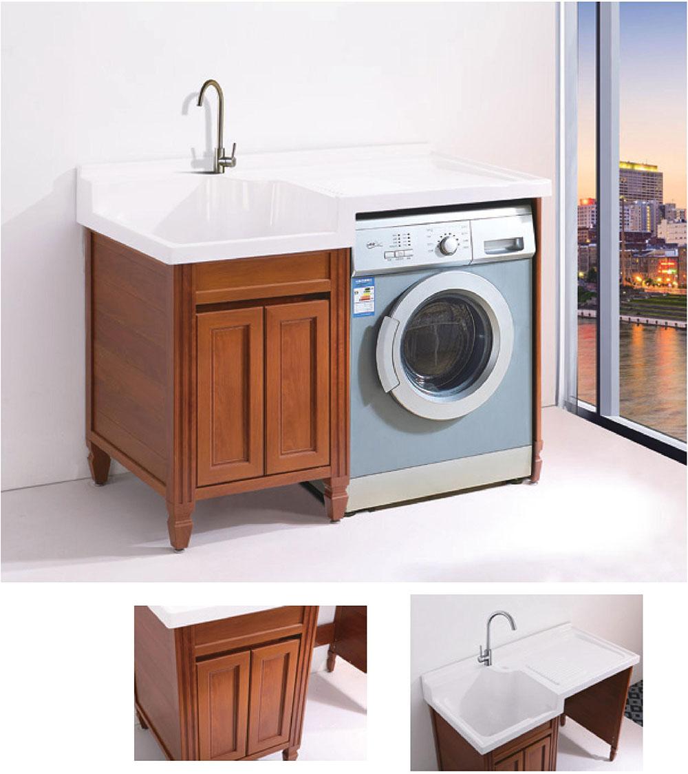 绿世界 全铝家居 全铝家具 全铝洗衣机柜