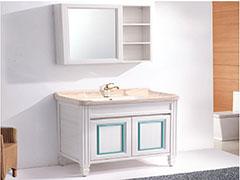 绿世界全铝家居全铝浴室柜