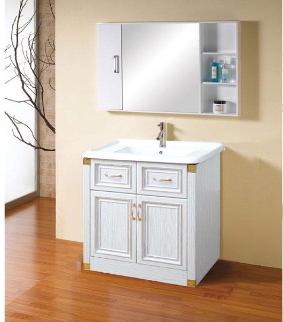 南北旺全铝家居 谭龙建材 全铝家具 全铝浴室柜