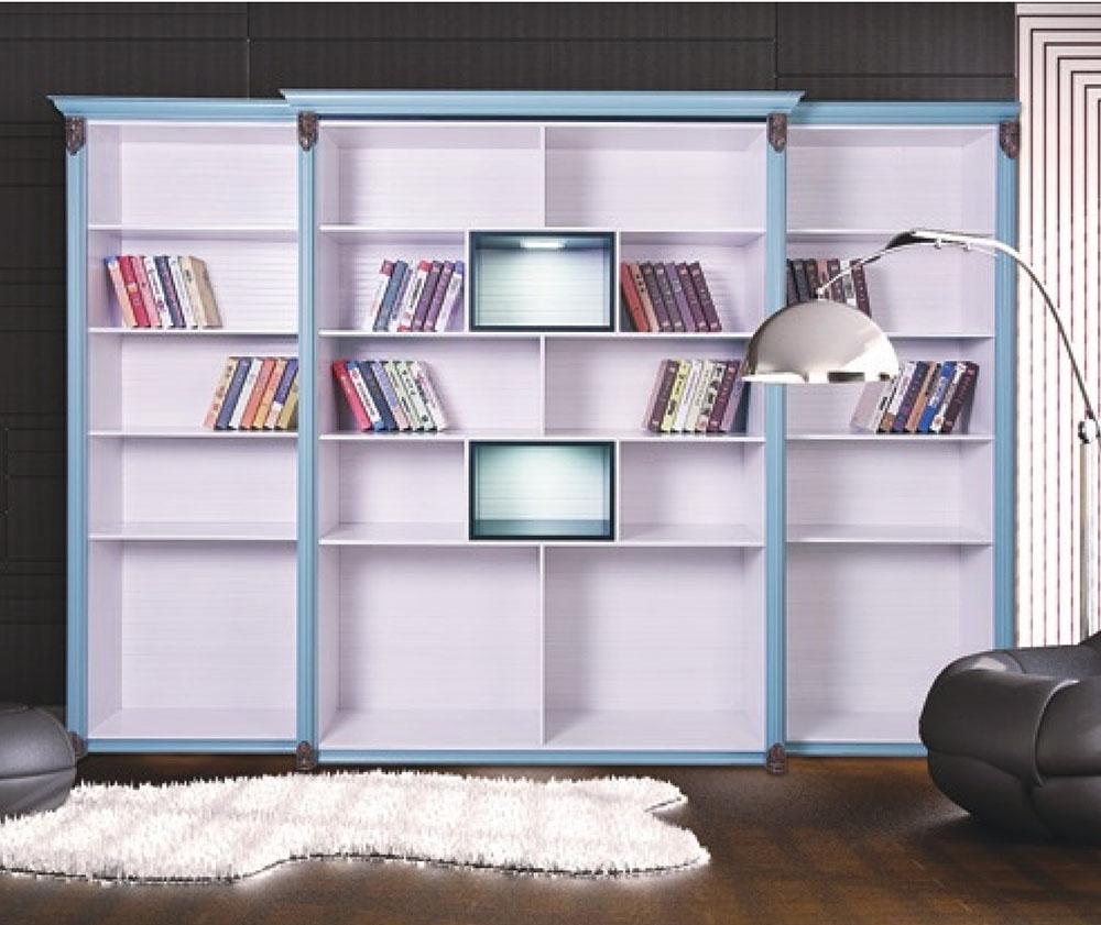 裕康柜世铝全铝家居 全铝家具 全铝书柜