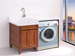 绿世界全铝家居全铝洗衣机柜