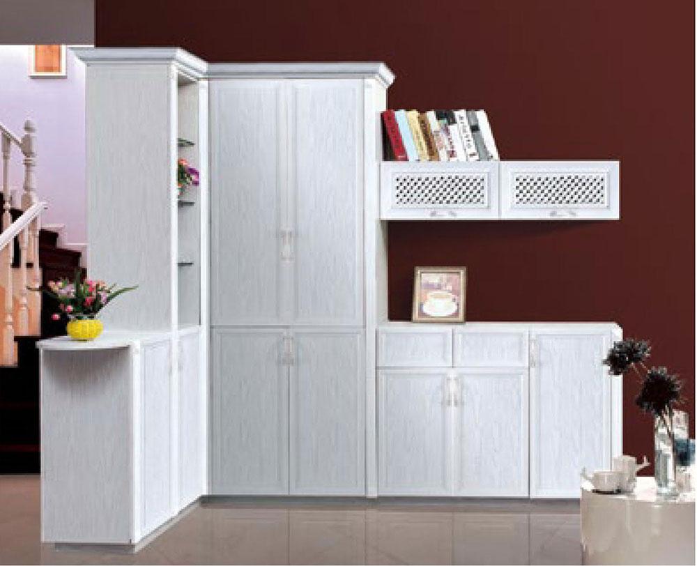 雅粤居铝业 铝壹全铝家居 全铝家具 全铝书柜