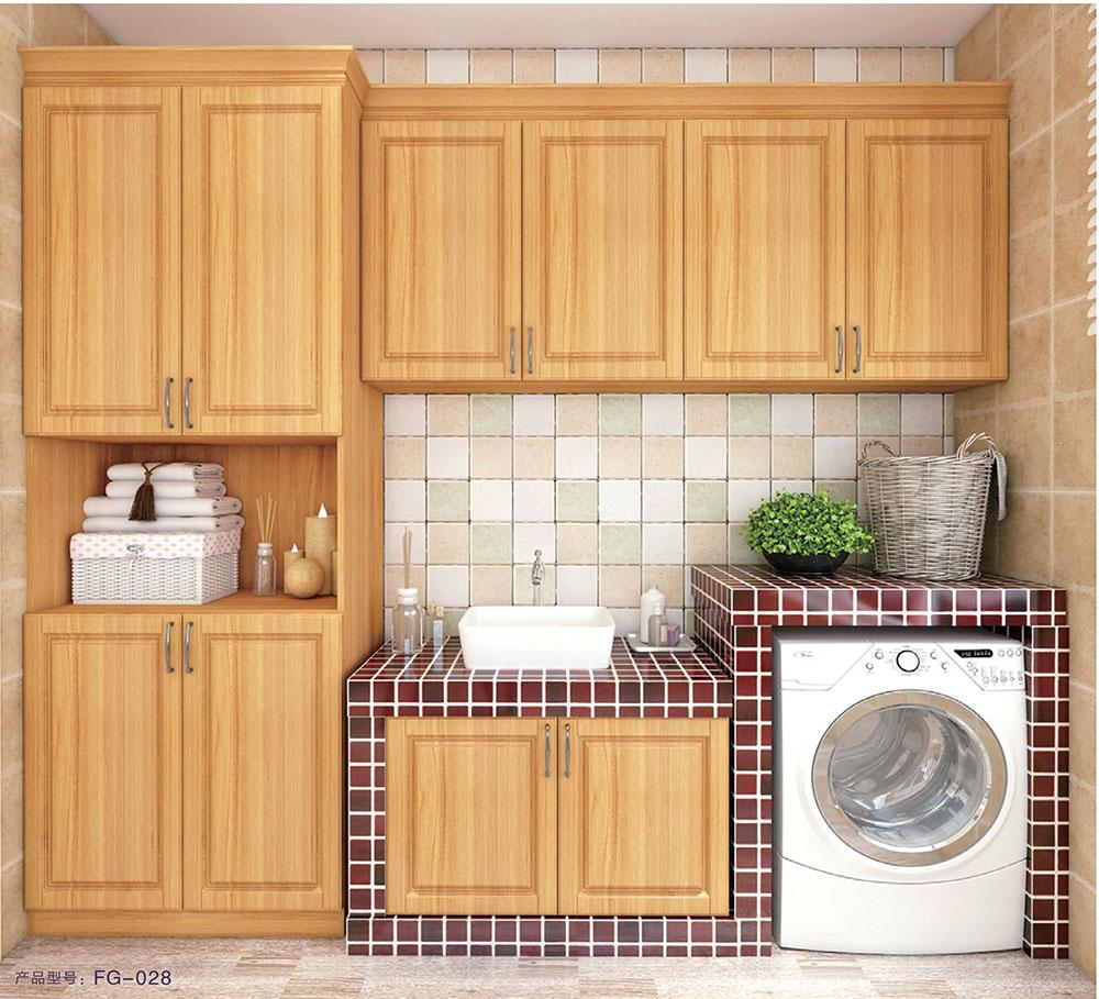 凤广铝业 全铝家居 全铝家具 全铝浴室柜 全铝洗衣机柜