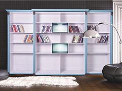 裕康柜世铝全铝家居全铝书柜